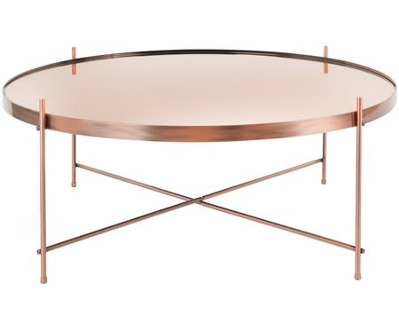 Tavolino da salotto Cupid con piano in vetro