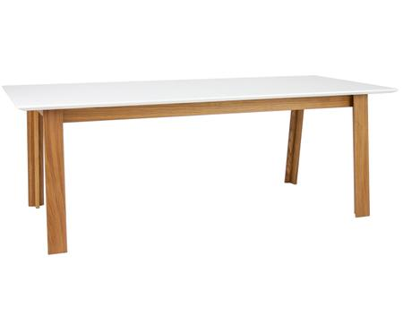 Ausziehbarer Holz-Esstisch Melvin