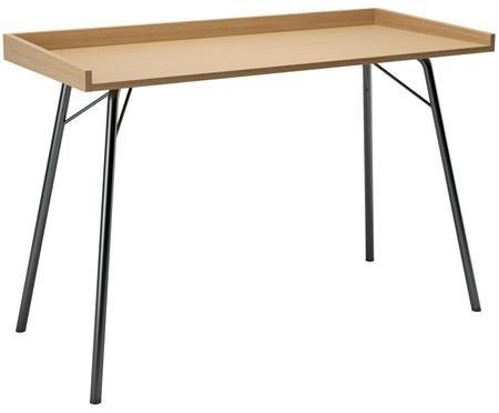 Schreibtisch Rayburn mit Eichenplatte