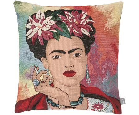 Kissenhülle Frida Kahlo in Bunt