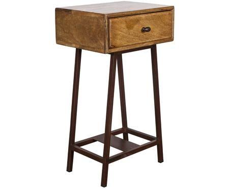Odkládací stolek se zásuvkou Skybox