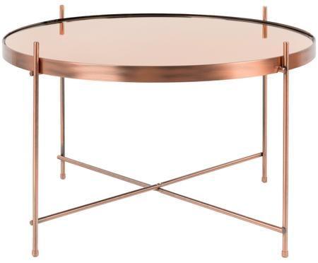 Tavolino da salotto di piccole dimensioni Cupid con piano in vetro
