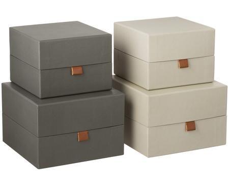 Set scatole custodie Boxed, 4 pz.