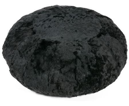 Flauschiger Schaffell-Pouf Icelandia