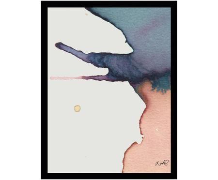 Stampa digitale incorniciata Paint II