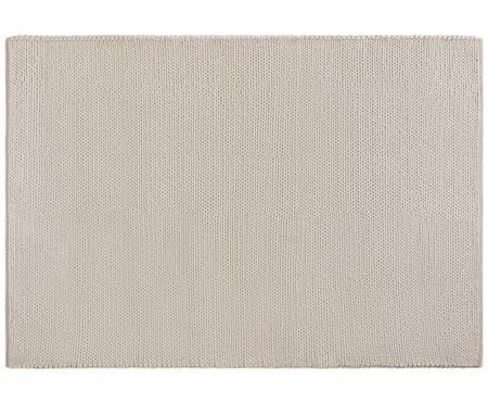 Handgewebter Wollteppich Uno