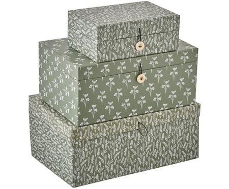 Geschenkboxen-Set Rosella, 3-tlg.