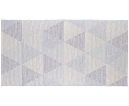 In- und Outdoor Teppich Sevres in Blautönen