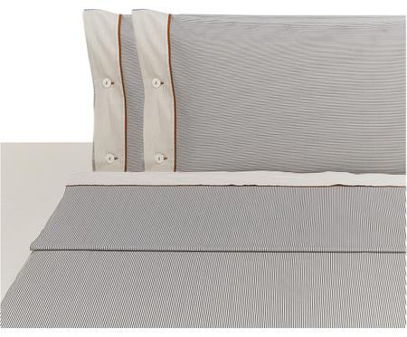 Completo letto Polsino con lenzuolo sopra, 4 pz.
