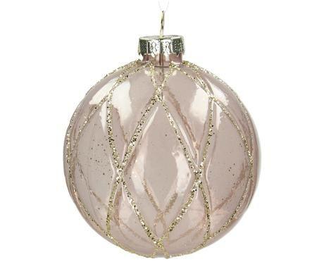 Vánoční koule Shine, 4 ks