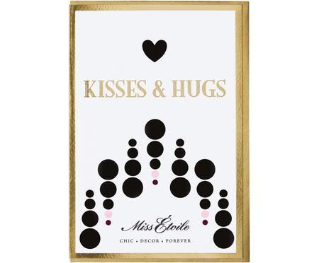 Biglietto d'auguri Kisses & Hugs