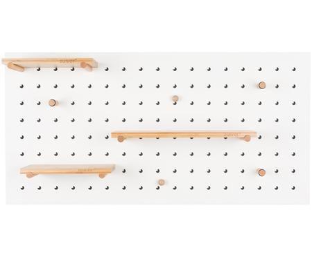 Wandregal Bundy mit Holzhaken und Magneten