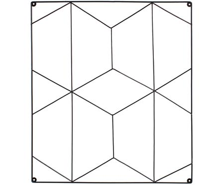 Rooster hangbord Hexagon