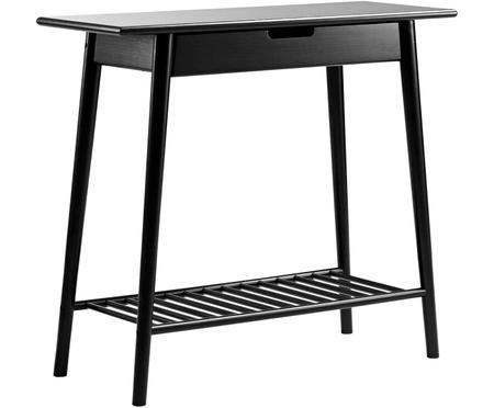 Bambusový konzolový stolek se zásuvkou Noble