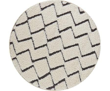 Kulatý koberec se vzorem Dades
