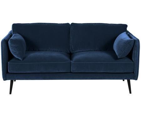 Sofa z aksamitu Paola (2-osobowa)