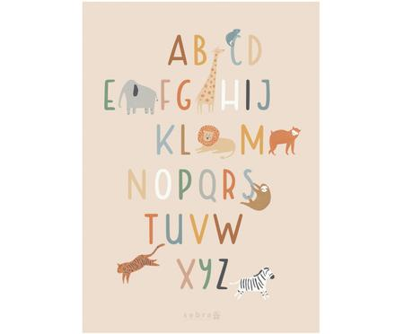 Poster Wildlife Letters