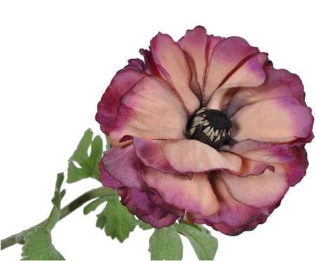 Flor artificial ranunculus Halina