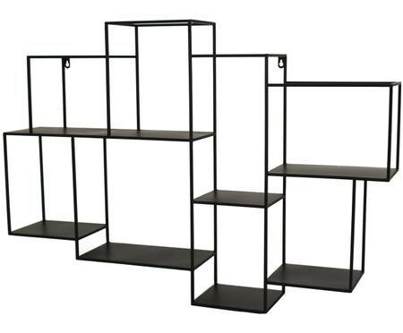 Metall-Wandregal Parnke mit 8 Fächern
