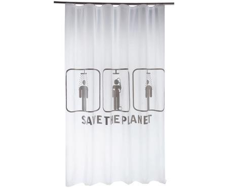 Zasłona prysznicowa Save the Planet
