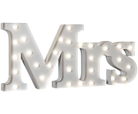 Oggetto luminoso a LED Mrs