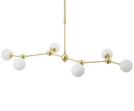 XL-hanglamp Aurelia uit glas en metaal