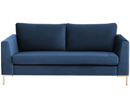 Canapé en velours Luna (2places)