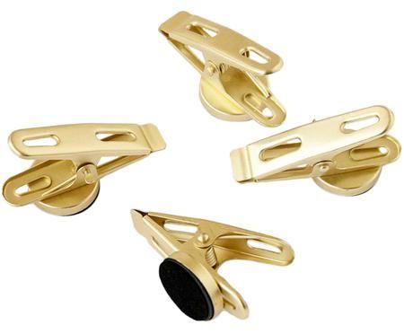 Pinces magnétiques Clips, 4pièces