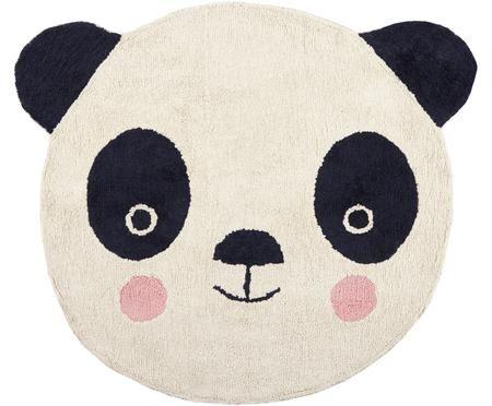 Wollteppich Panda