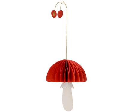 Baumanhänger Mushroom, 2 Stück