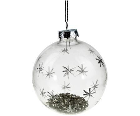 Weihnachtskugeln Stardust, 4 Stück