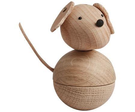 Oggetto decorativo Dog Leika
