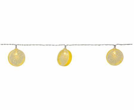 Ghirlanda luminosa Funny Lemon, 135 cm