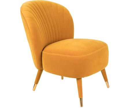 Fauteuil cocktail en veloursWellDressed