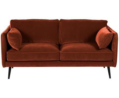 Samt-Sofa Paola (2-Sitzer)