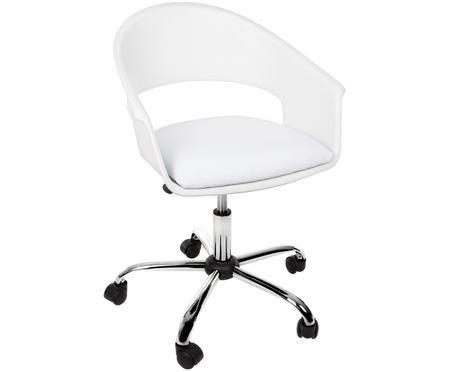 Kancelářská otočná židle Wells, výškově nastavitelná