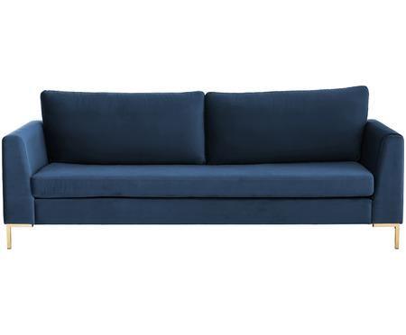 Canapé en velours Luna (3places)