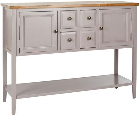 Hellgraues Sideboard Amy im Landhausstil