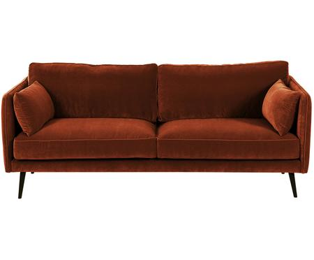Samt-Sofa Paola (3-Sitzer)