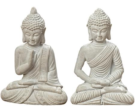 Decoratieve objectenset Buddha, 2-delig