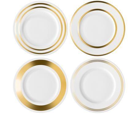 Set piatti da colazione Deco, 4 pz.