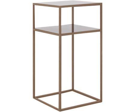 Tavolino in metallo Tensio Oli in ottone