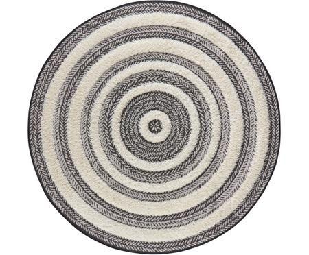 Kulatý koberec se vzorem Nador