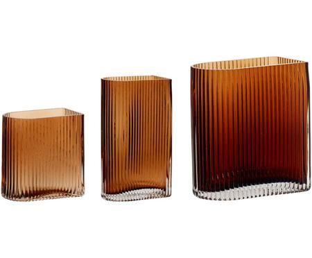 Vasen-Set Bernhard aus Glas, 3-tlg.