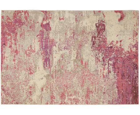 Design vloerkleed Celestial in roze-beige