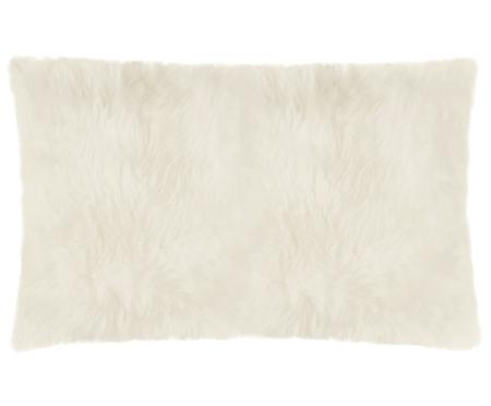 Federa arredo in pelliccia di pecora Oslo, liscia