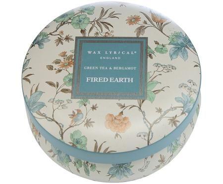 Bougie parfumée Fired Earth (thé vert et bergamote)