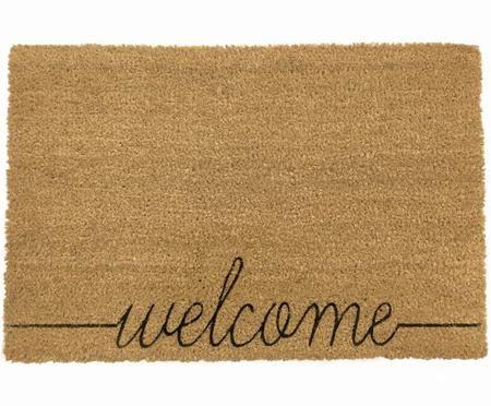 Fußmatte Welcome