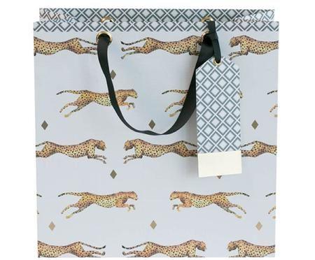 Sacchetto regalo Leopard