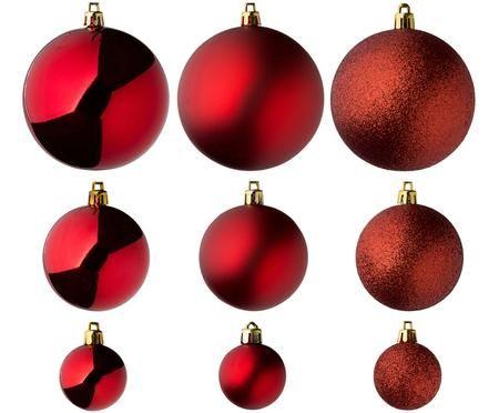 Set de bolas de Navidad Silvia, 46uds.